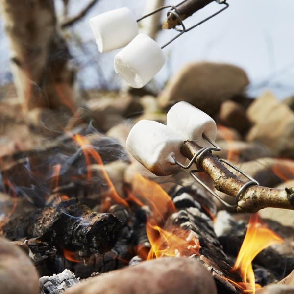 Firefork marshmallows
